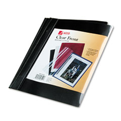 ACC26101 - ACCO Clear Front Vinyl Report Cover