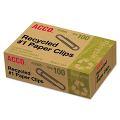 ACC72365 - ACCO Recycled Paper Clips