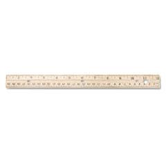 ACM10702 - Westcott® Three-Hole Punched Wood Ruler
