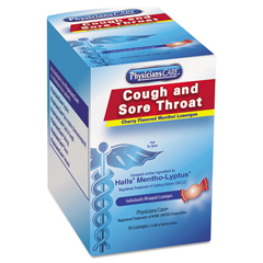 ACM90306 - PhysiciansCare® Cough and Sore Throat Lozenges