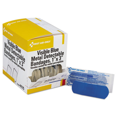 ACMH175 - First Aid Only™ Metal Detectable Woven Adhesive Bandages