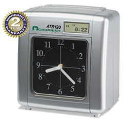 ACP010212000 - Acroprint® Model ATR120 Time Clock for Weekly/Biweekly Pay Periods