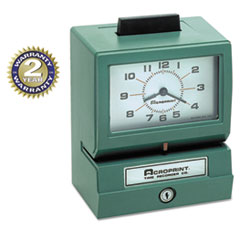 ACP011070413 - Acroprint® Heavy-Duty Time Recorders