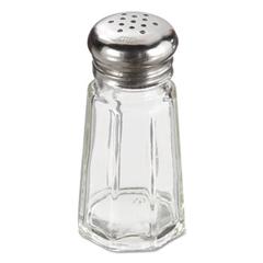 ADCSMT-1 - Adcraft® Mushroom Top Paneled Salt & Pepper Shakers
