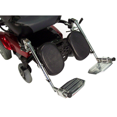 AE2500 - Drive MedicalPower Wheelchair Elevating Legrest Bracket w/Hemi Spacing