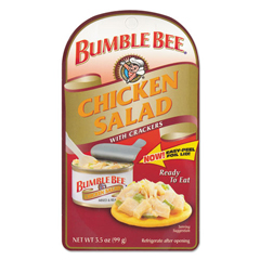 BFVAHF70350 - Bumble Bee - Chicken Salad with Crackers