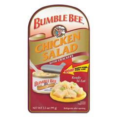 BFVAHF70350 - Bumble BeeChicken Salad with Crackers
