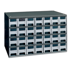 AKR19228 - Akro-Mils28-Drawer Storage Hardware and Craft Organizer