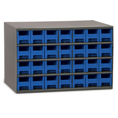 AKR19228BLU - Akro-Mils28-Drawer Storage Hardware and Craft Organizer