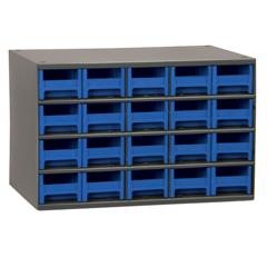 AKR19320BLU - Akro-Mils20-Drawer Storage Hardware and Craft Organizer