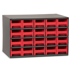 AKR19320RED - Akro-Mils20-Drawer Storage Hardware and Craft Organizer