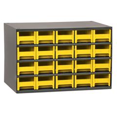 AKR19320YEL - Akro-Mils20-Drawer Storage Hardware and Craft Organizer