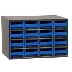 AKR19416BLU - Akro-Mils16-Drawer Storage Hardware and Craft Organizer