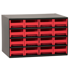 AKR19416RED - Akro-Mils16-Drawer Storage Hardware and Craft Organizer