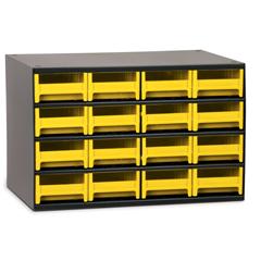 AKR19416YEL - Akro-Mils16-Drawer Storage Hardware and Craft Organizer