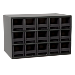 AKR19715BLK - Akro-Mils15-Drawer Storage Hardware and Craft Organizer
