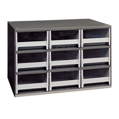AKR19909 - Akro-Mils9-Drawer Storage Hardware and Craft Organizer