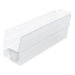 AKR30110SCLARCS - Akro-Mils12 inch Clear Nesting Shelf Bin Box