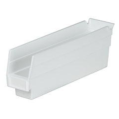 AKR30110WHITECS - Akro-Mils12 inch Nesting Shelf Bin Box