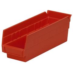 AKR30120REDCS - Akro-Mils12 inch Nesting Shelf Bin Box