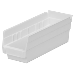 AKR30120WHITECS - Akro-Mils12 inch Nesting Shelf Bin Box