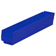 AKR30124BLUECS - Akro-Mils24 inch Nesting Shelf Bin Box