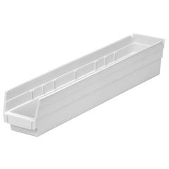 AKR30124WHITECS - Akro-Mils24 inch Nesting Shelf Bin Box
