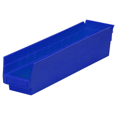 AKR30128BLUECS - Akro-Mils18 inch Nesting Shelf Bin Box