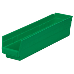 AKR30128GREENCS - Akro-Mils18 inch Nesting Shelf Bin Box