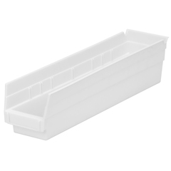AKR30128WHITECS - Akro-Mils18 inch Nesting Shelf Bin Box