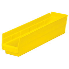 AKR30128YELLOCS - Akro-Mils18 inch Nesting Shelf Bin Box