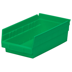 AKR30130GREENCS - Akro-Mils12 inch Nesting Shelf Bin Box