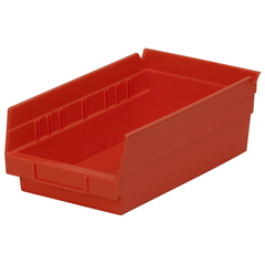 AKR30130REDCS - Akro-Mils12 inch Nesting Shelf Bin Box