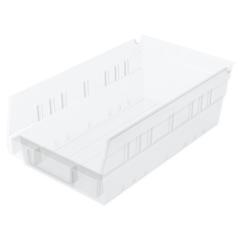 AKR30130SCLARCS - Akro-Mils12 inch Clear Nesting Shelf Bin Box