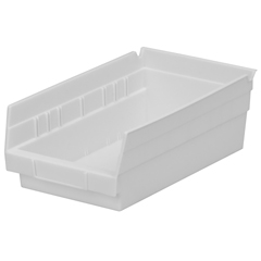 AKR30130WHITECS - Akro-Mils12 inch Nesting Shelf Bin Box