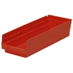AKR30138REDCS - Akro-Mils18 inch Nesting Shelf Bin Box