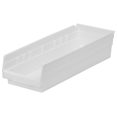 AKR30138WHITECS - Akro-Mils18 inch Nesting Shelf Bin Box