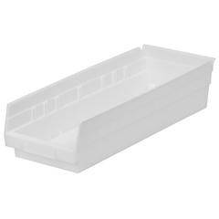 AKR30138WHITECS - Akro-Mils18 inch Nesting Shelf Bin Box