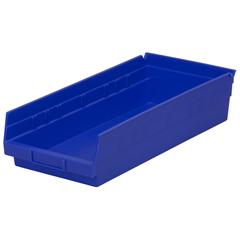 AKR30158BLUECS - Akro-Mils18 inch Nesting Shelf Bin Box
