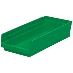 AKR30158GREENCS - Akro-Mils18 inch Nesting Shelf Bin Box