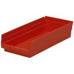 AKR30158REDCS - Akro-Mils18 inch Nesting Shelf Bin Box
