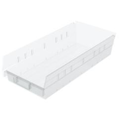 AKR30158SCLARCS - Akro-Mils18 inch Clear Nesting Shelf Bin Box