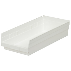 AKR30158WHITECS - Akro-Mils18 inch Nesting Shelf Bin Box