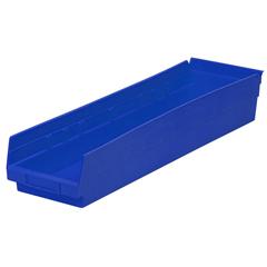 AKR30164BLUECS - Akro-Mils24 inch Nesting Shelf Bin Box