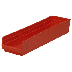 AKR30164REDCS - Akro-Mils24 inch Nesting Shelf Bin Box