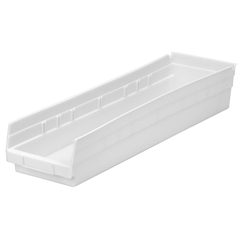 AKR30164WHITECS - Akro-Mils24 inch Nesting Shelf Bin Box