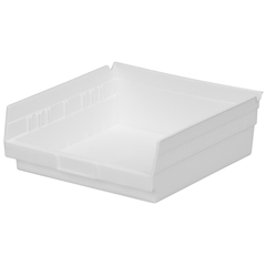 AKR30170WHITECS - Akro-Mils12 inch Nesting Shelf Bin Box