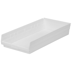 AKR30174WHITECS - Akro-Mils24 inch Nesting Shelf Bin Box