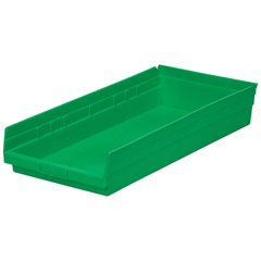 AKR30178GREENCS - Akro-Mils18 inch Nesting Shelf Bin Box
