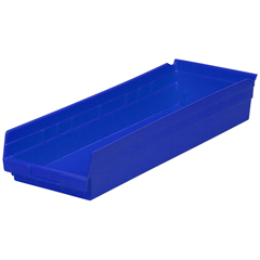 AKR30184BLUECS - Akro-Mils24 inch Nesting Shelf Bin Box
